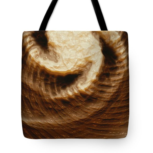 Tote Bag featuring the digital art Milk Effects No4 by Matt Lindley
