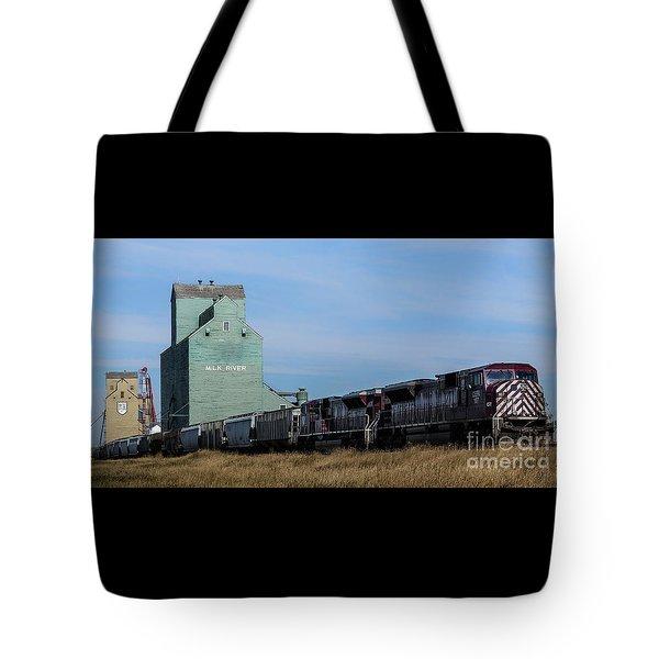 Milk River Tote Bag