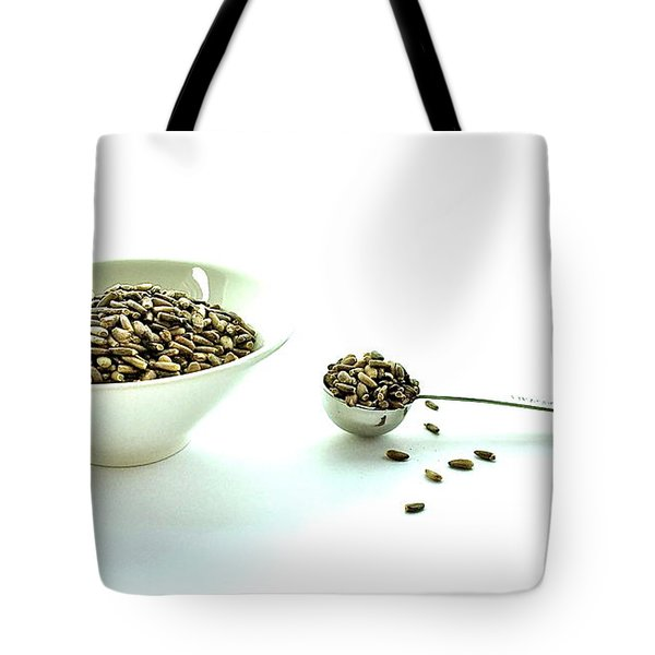 Milk Thistle Seeds Tote Bag