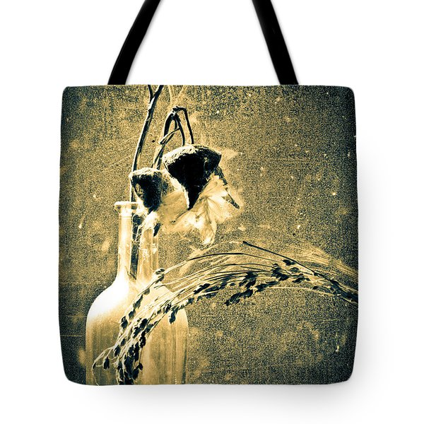 Milk Weed And Hay Tote Bag by Bob Orsillo