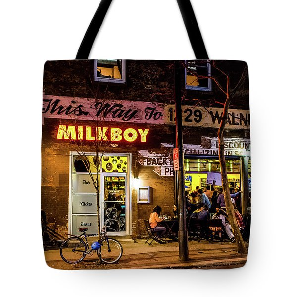 Milkboy - 1033 Tote Bag by David Sutton