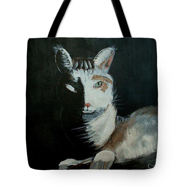 Milkshake The Cat Tote Bag