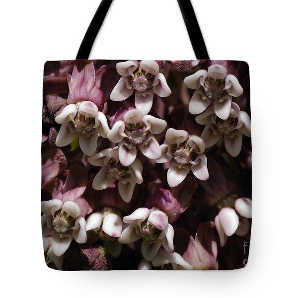 Milkweed Florets Tote Bag
