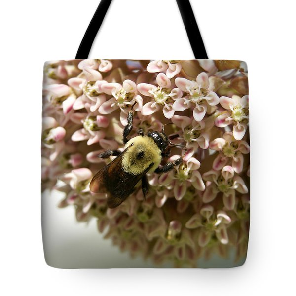 Tote Bag featuring the photograph Milkweed by Heidi Poulin
