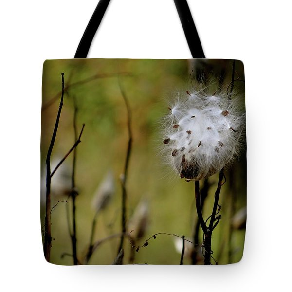 Milkweed In A Field Tote Bag