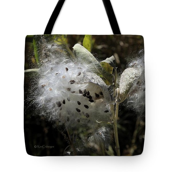 Milkweed Seeds Emerging Tote Bag