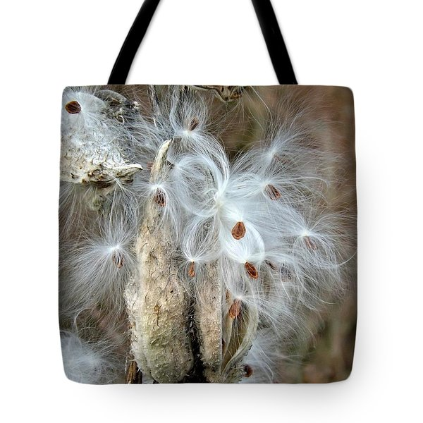 Milkweeds Seeds  Tote Bag
