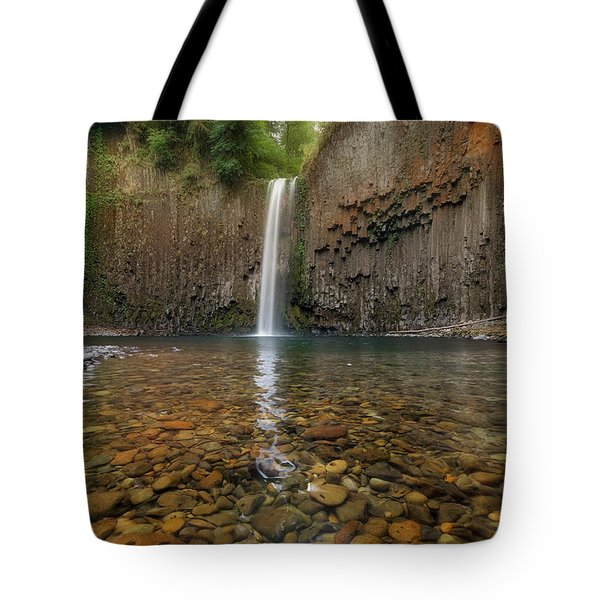 Milky Reflection Tote Bag by David Gn