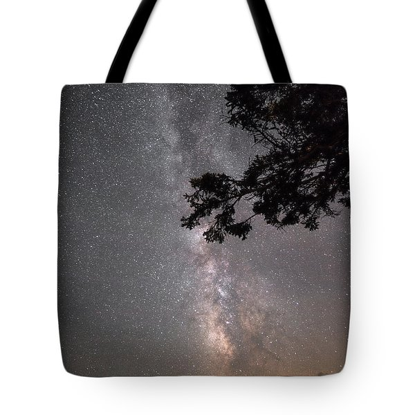Milky Way Above Pemaquid Tote Bag