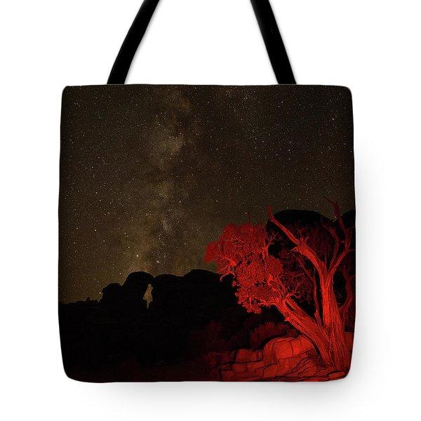 Milky Way And Juniper Tote Bag