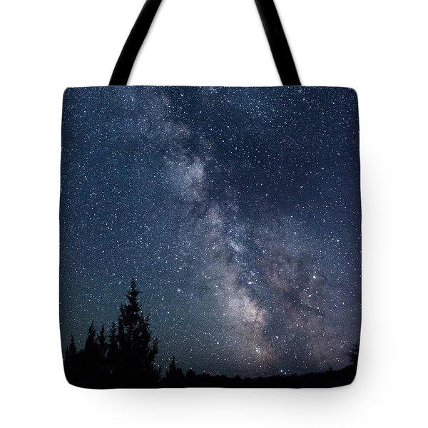 Milky Way At Eastern Oregon Wilderness Tote Bag