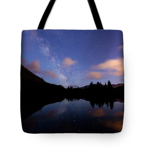 Milky Way At Snoqualmie Pass Tote Bag