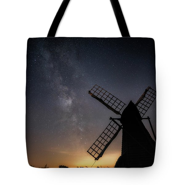 Tote Bag featuring the photograph Milky Way At Wicken by James Billings