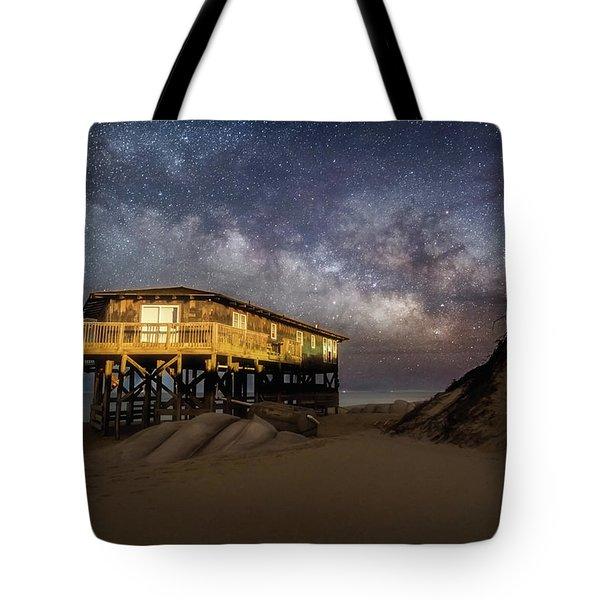 Milky Way Beach House Tote Bag