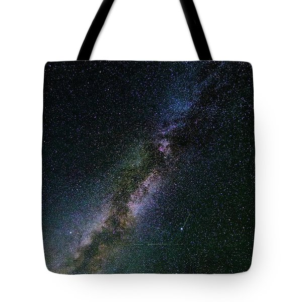 Tote Bag featuring the photograph Milky Way Core by Bryan Carter