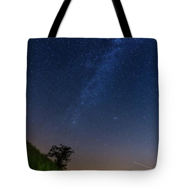 Tote Bag featuring the photograph Milky Way by Davor Zerjav