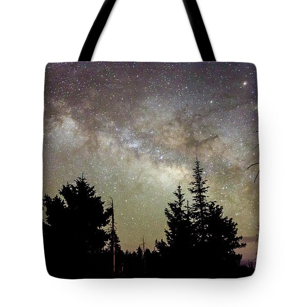 Milky Way From Mt. Graham Tote Bag