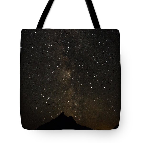 Milky Way, Glacier Nat'l Park Tote Bag