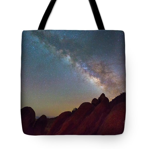 Milky Way In The Alabama Hills Tote Bag