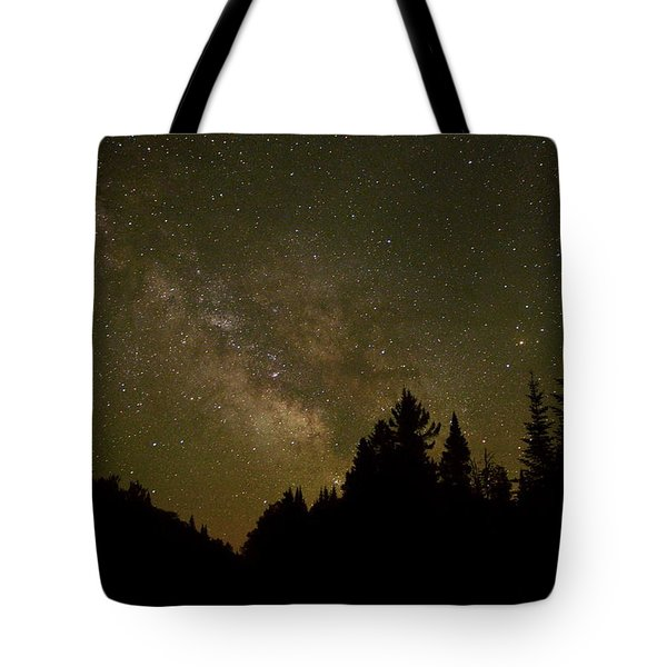 Milky Way In The Whites Tote Bag