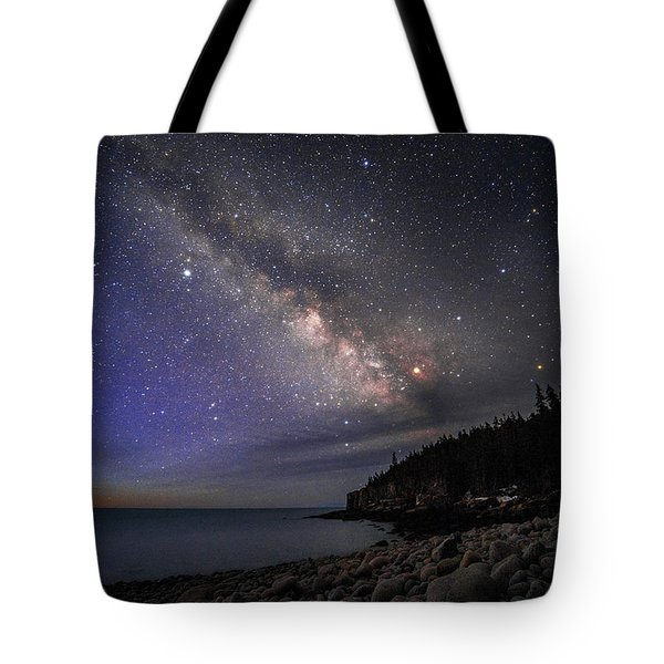 Milky Way Over Boulder Beach Tote Bag