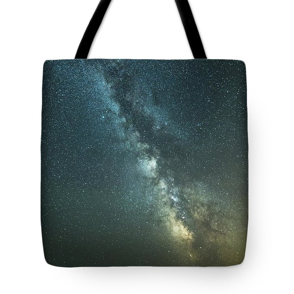 Milky Way Over Clams Flats Tote Bag