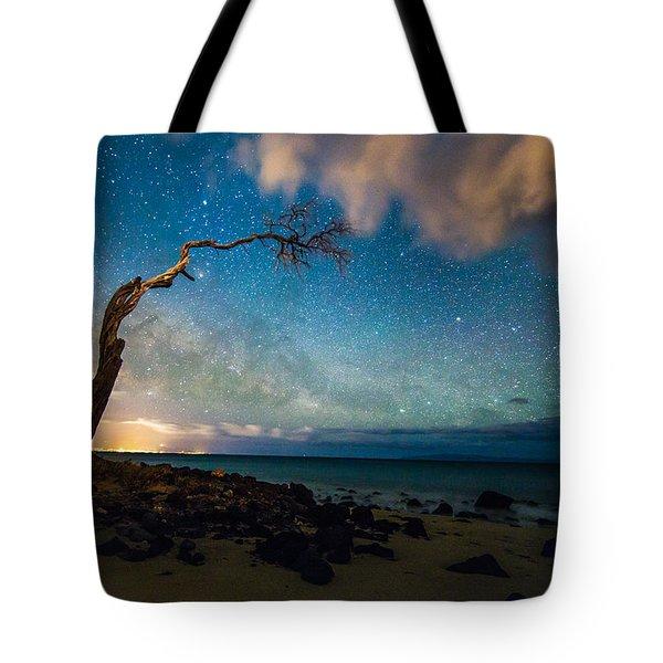 Milky Way Over Kihei Tote Bag