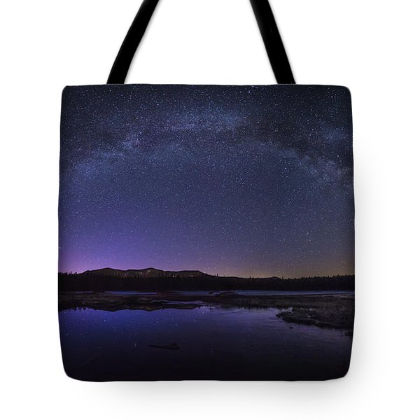 Milky Way Over Lonesome Lake Tote Bag