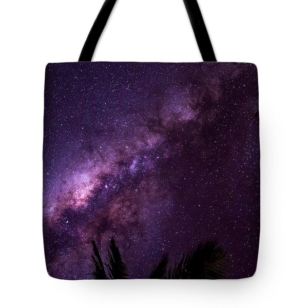 Tote Bag featuring the photograph Milky Way Over Mission Beach Narrow by Avian Resources