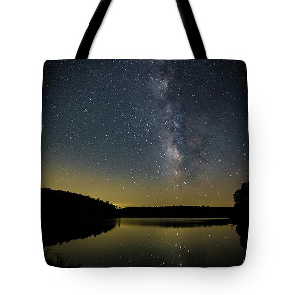 Milky Way Over Price Lake Tote Bag