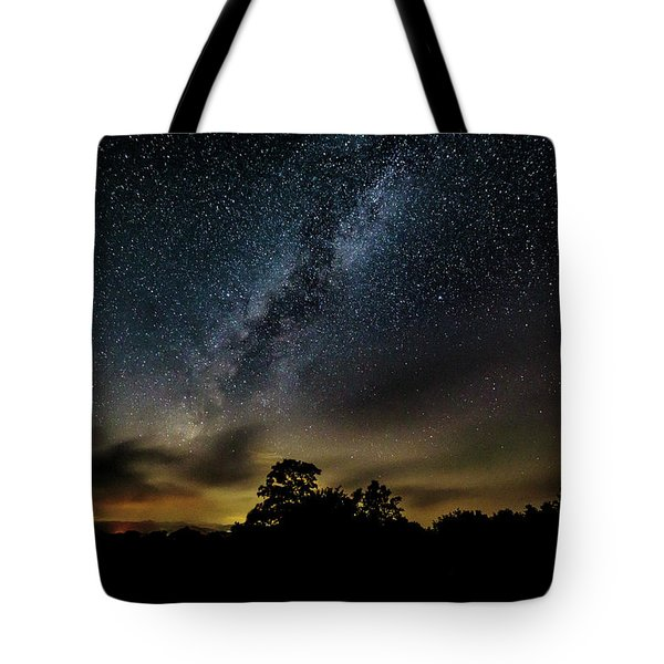 Milky Way Over The Blue Ridge Tote Bag