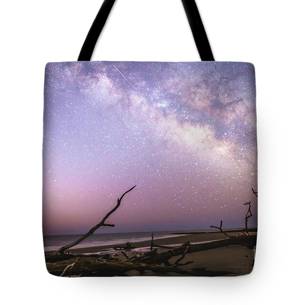 Milky Way Roots Tote Bag by Robert Loe