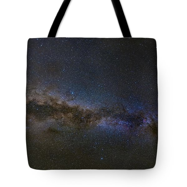 Tote Bag featuring the photograph Milky Way South by Charles Warren