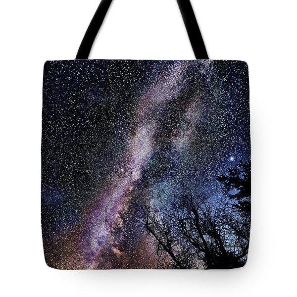 Milky Way Splendor Tote Bag