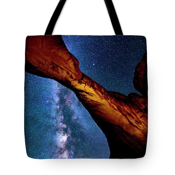 Milkyway At Arches Tote Bag