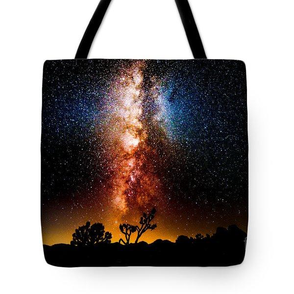 Milkyway Explosion Tote Bag