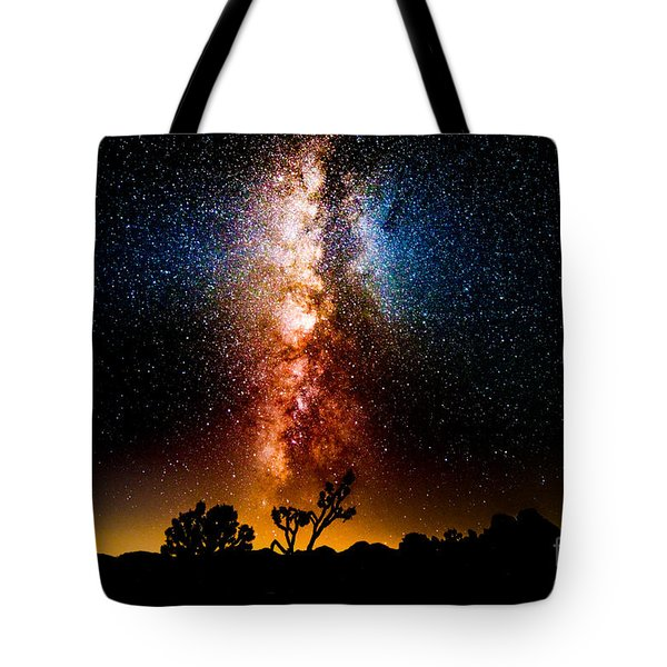Milkyway Explosion Tote Bag