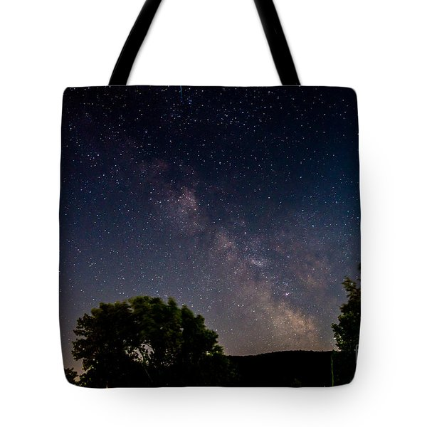 Milkyway In The Catskills Tote Bag