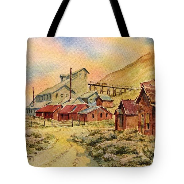 Mill Bodie Ghost Town California Tote Bag by Kevin Heaney