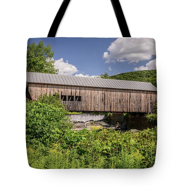 Mill Bridge Tote Bag