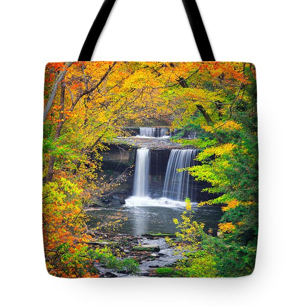 Mill Creek Fall  Tote Bag