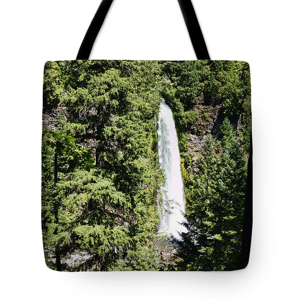 Tote Bag featuring the photograph Mill Creek Falls by Hugh Smith