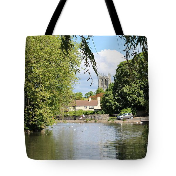Mill Dam,tickhill Tote Bag