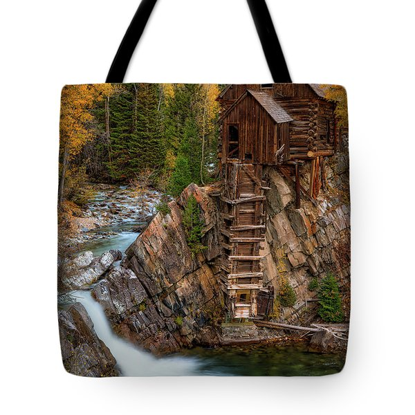 Mill In The Mountains Tote Bag