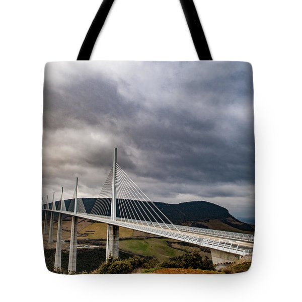 Millau Viaduct Tote Bag