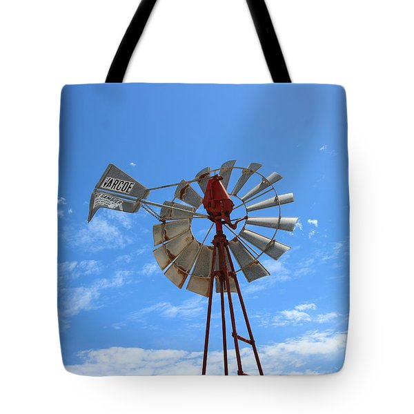 Milled Wind Tote Bag by Stephen Mitchell