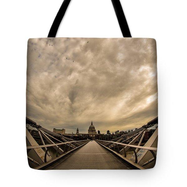 Millennium Bridge Tote Bag