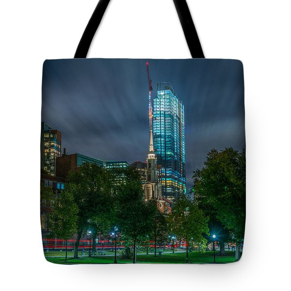 Millennium Construction Tote Bag