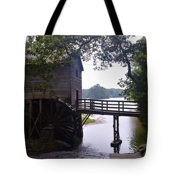 Millhouse At Stone Mountain Tote Bag