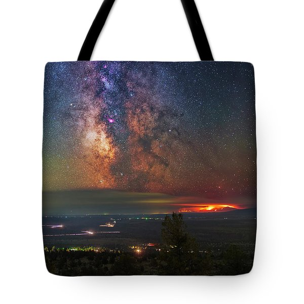 Milli Fire Tote Bag